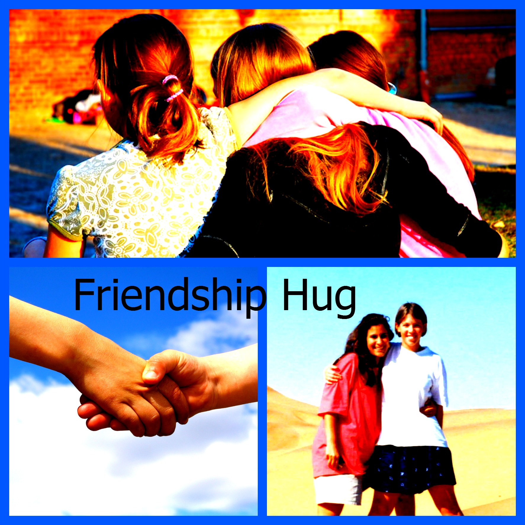 Friendship Hugs! {Appropriate Affection at School}