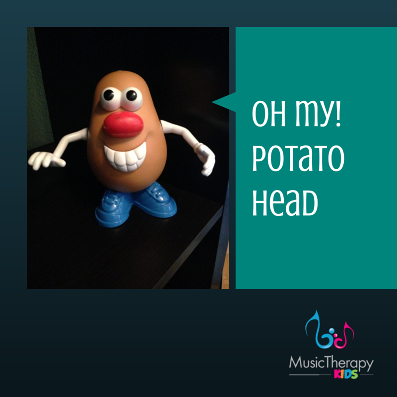 Pinspiration! {Mr. Potato Head & Sequencing Song}