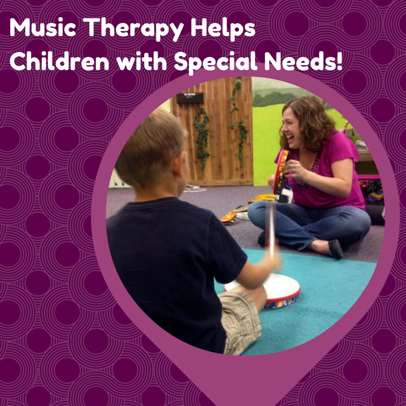 Music Therapy Helps Children With Special Needs!