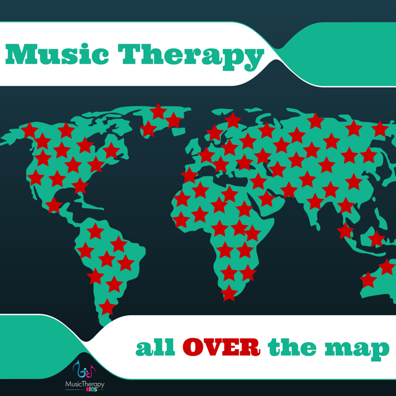 Put Music Therapy ALL OVER the Map