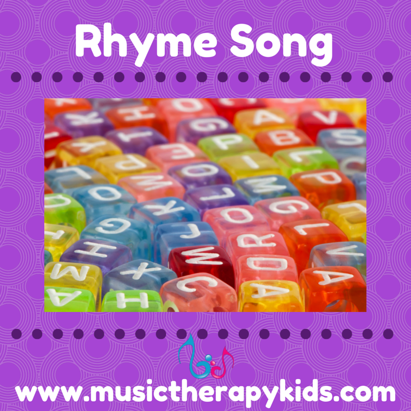 Rhyming Words and Word Families {an easy song}