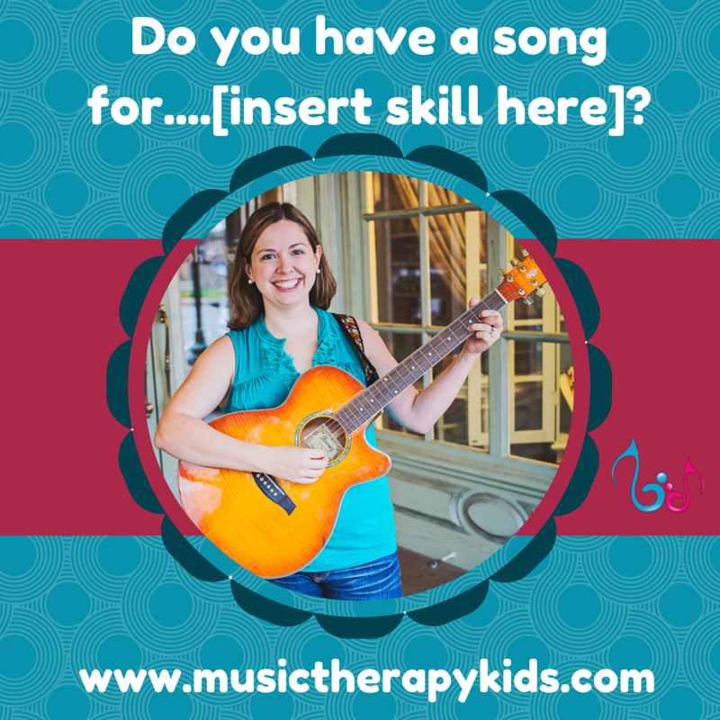 Do you have a song for…….[insert skill here]?