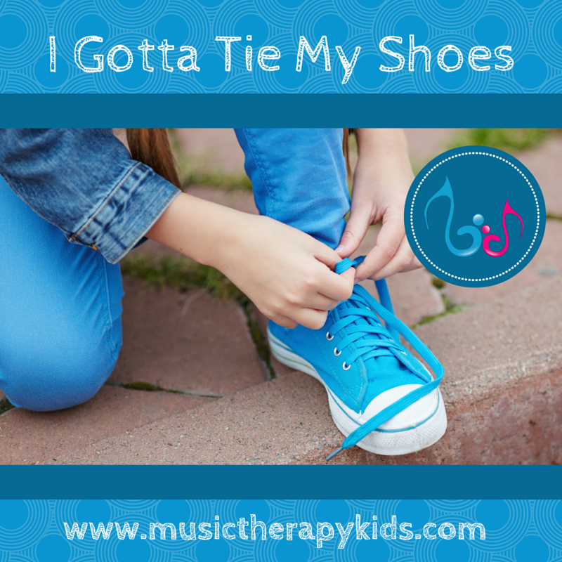Learn to tie shoes in a few easy steps (paired with song)