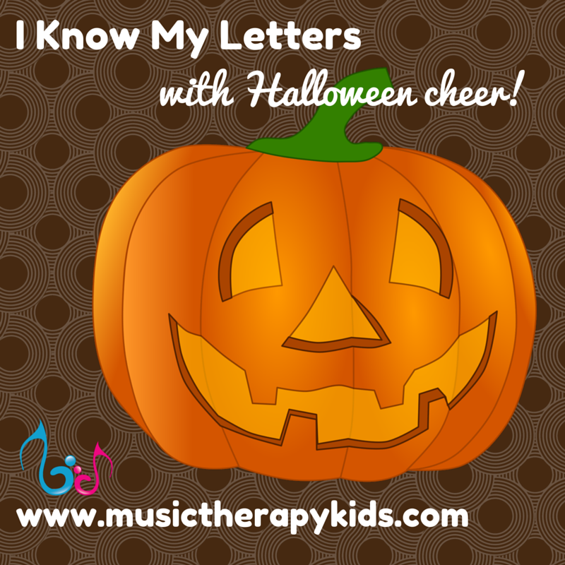I Know My Letters – with Halloween Cheer!