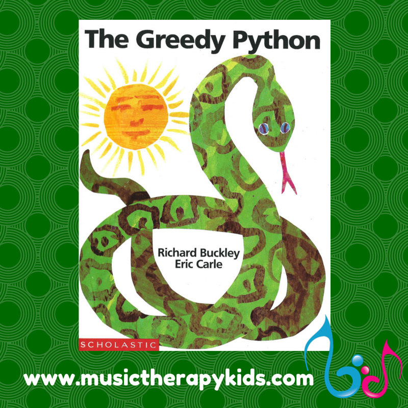 The Greedy Python – A Singable Story