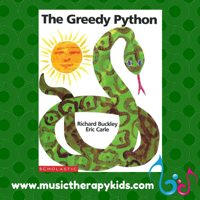 The Greedy Python – A Singable Story