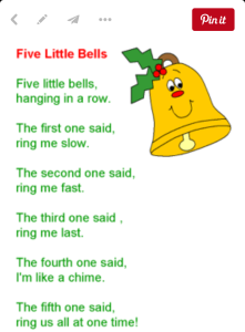 Ten Little Bells [Ordinal Numbers + Following Directions] | Music