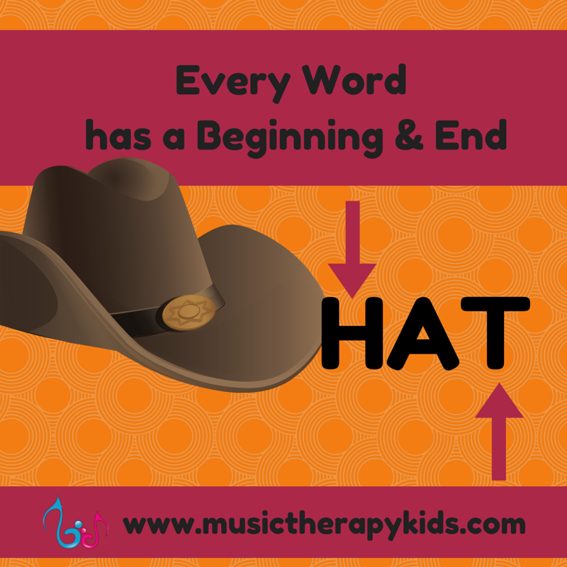 Every word has a beginning and an end: reading phonetically