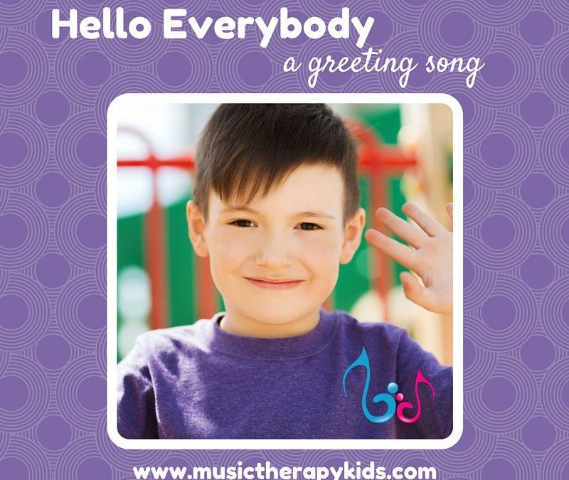 Hello Everybody! {Songwriting Challenge 2.0}