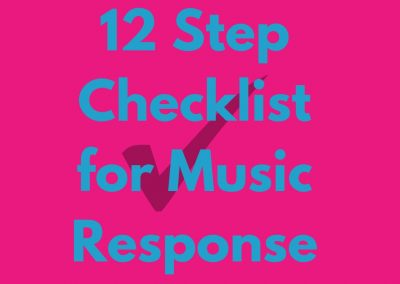 12 Question Checklist to Know if Your Child Responds to Music