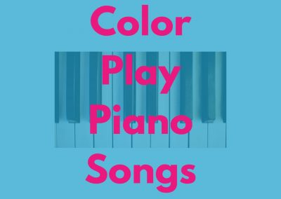 Color Play- Adapted Piano Songs